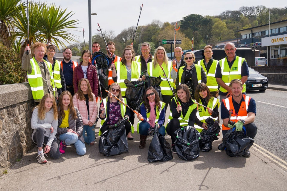 City Clean-up involved over 130 community and business representatives