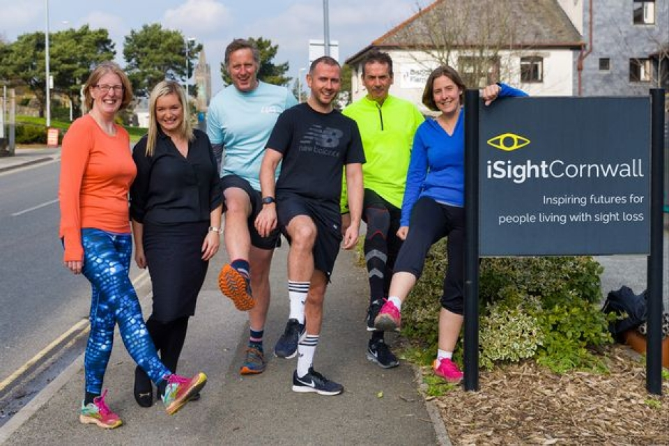 London Marathon 2018 - iSightCornwall is seeking to raise at least £6,000 after scooping six places