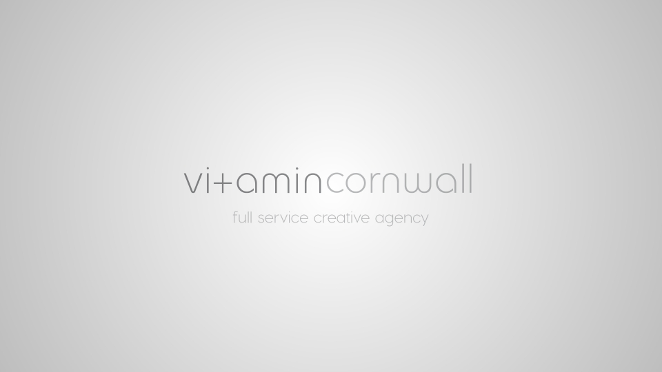 Creative Edge have rebranded to Vitamin Cornwall